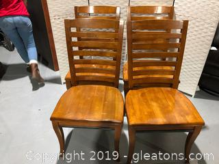 Set of 4 Klaussner Dining Chairs