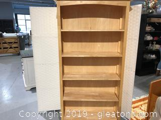 5 Shelf Pine Book Shelf by Apple Furniture