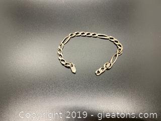 Men's Sterling Bracelet