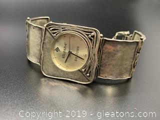 Retired Silpada Sterling Watch