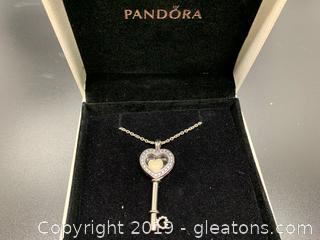 New Pandora Floating Locket Necklace