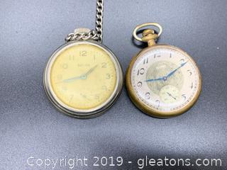 Pair of Antique Pocket Watches