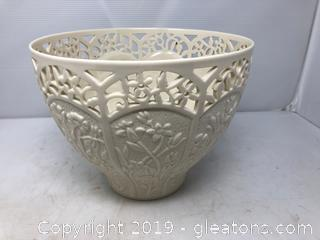 Large Lenox Jasmine Bowl