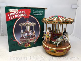 Mr. Christmas - Christmas Go Round with Carols in Original Box