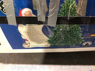 9' Woodland Fir Prelit Christmas Tree