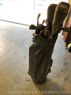 Dunlap Golf Clubs W/Bag