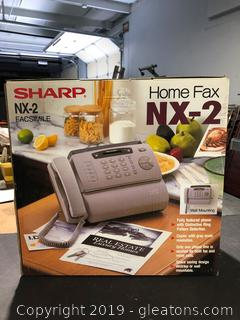 Brand New Fax Simile / Fax Machine by Sharp
