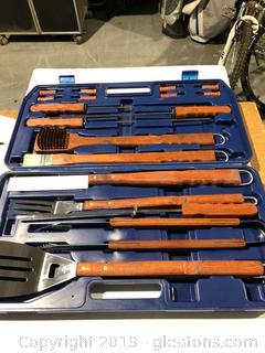 Bar B-Q Tools in Case