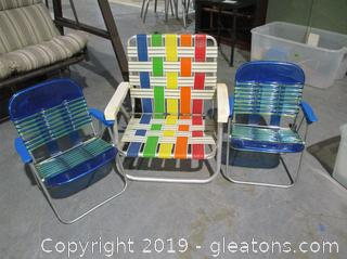 Alu Chair Lot