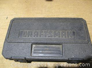 "Craftsman Socket Set ⅜"" Rachet W/Extension"