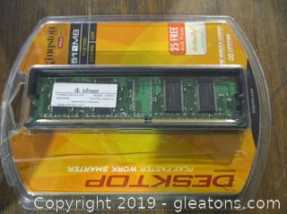 Memory Board by Kingston 512 mm Desk Top