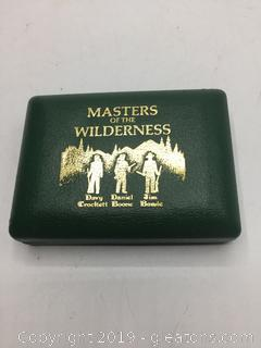 Masters of The Wilderness Small Collectors Knives