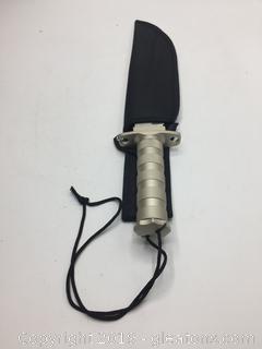 Large Hunting Knife W/Holder
