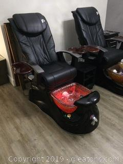 Top of the Line Pedicure Spa Chair A