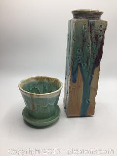 V.S.A Roseville Planter + Vase