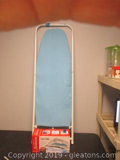Ironing Board W/Cover Sunbeam Iron