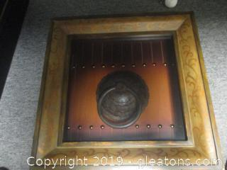 Vintage Door Pull Shadow Box Picture