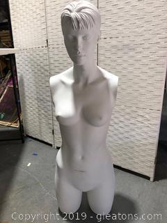 Female Half Bust Mannequin
