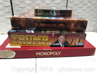 Lot of Board Games and Book