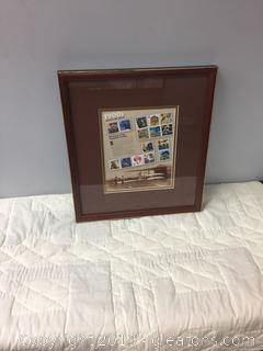 "1900'S "" Celebrate The Century"" Framed Clipping"