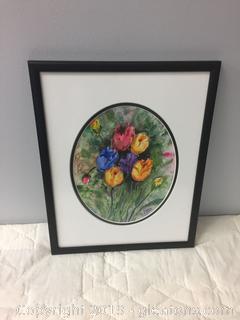 Original Watercolor Piece by M.otto