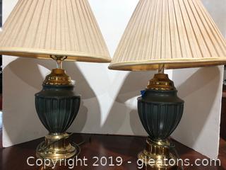 Pair Lamps