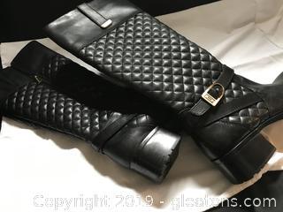 Bandolino Black boots size 7 1/2 M