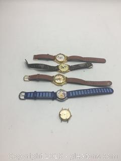 Vintage Disney Watches