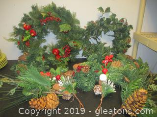 Christmas Wreathst Garland