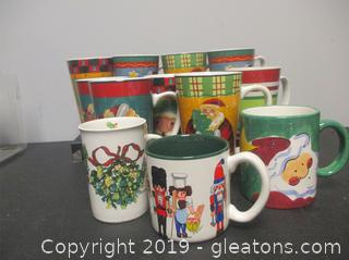 Christmas Mugs + Towels