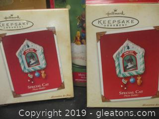 Hallmark Christmas Ornaments  Enesco Rudolf & the Island of Misfit Toys