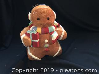 Ginger Bread Man Cookie Jar