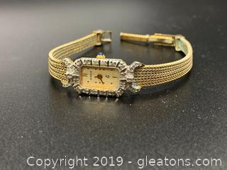 Women's Diamond Geneva Watch