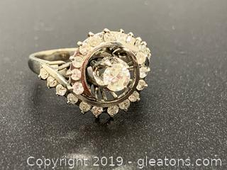 Woman's Diamond Cocktail Ring