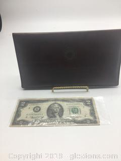 U.S. Mint 2 Dollar Bills