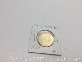 John Adams Dollar 2007
