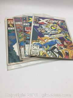 "1993 Marvel ""X Force"" Comic Books"