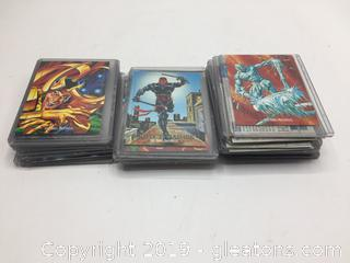 1992 Marvel Master Pieces Collectors Cards