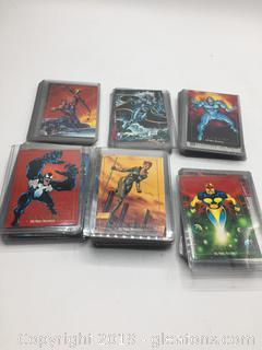 1992 Marvel Master Pieces Collection  Card Lot B