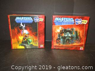 Masters of the Universe 100 Piece Puzzles