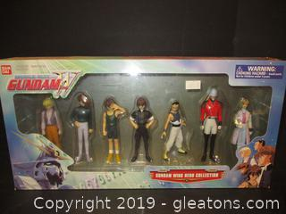 Mobile  Suit Gundam Wing Hero Collector Action Figures