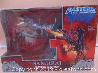 Masters of the Universe Samurai Battle Raptor