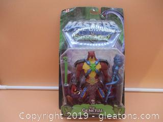 Masters of the Universe Vs the Snakemen The General EL General Figurine