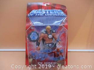 Masters of the Universe Ice-Armor He-Man Figure