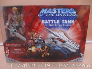 Masters of the Universe Battle Tank