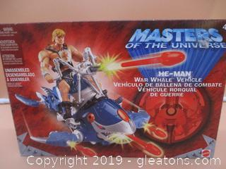 Masters of the Universe He-Man War Whale Vehicle