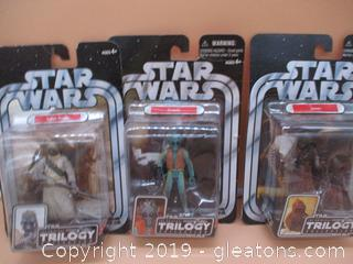 2 Star Wars Action Figures From the Original Trilogy Collection
