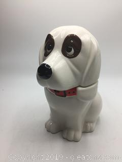 Vintage Dog Cookie Jar