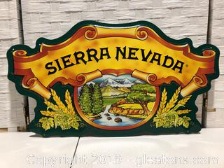 Metal Sierra Nevada Sign