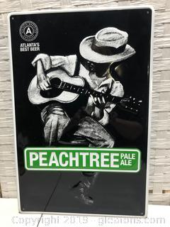 Peach Tree Pale Ake Sign